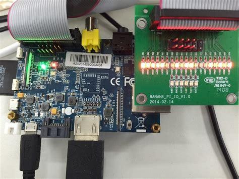 Wiringpi Python Banana Bpi Dual Core Single