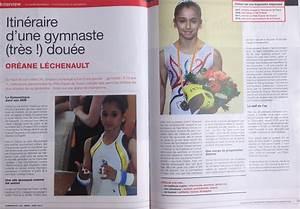 Magazine De Sport : revue de presse de la gymnaste or ane lechenault ~ Medecine-chirurgie-esthetiques.com Avis de Voitures