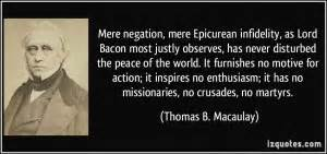 Quotes About Ch... Macaulay Thomas Quotes