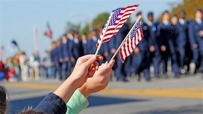 Memorial Background Parade Flags Waving Wallpapertag