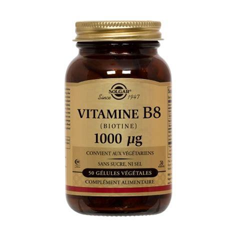 vitamine  biotine  microg  gelules solgar