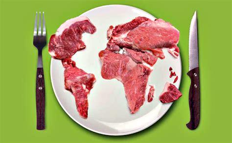 fascinating maps    meat atlas modern farmer