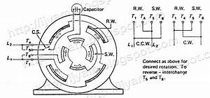 Capacitor Start Capacitor Run Motor Wiring Diagram