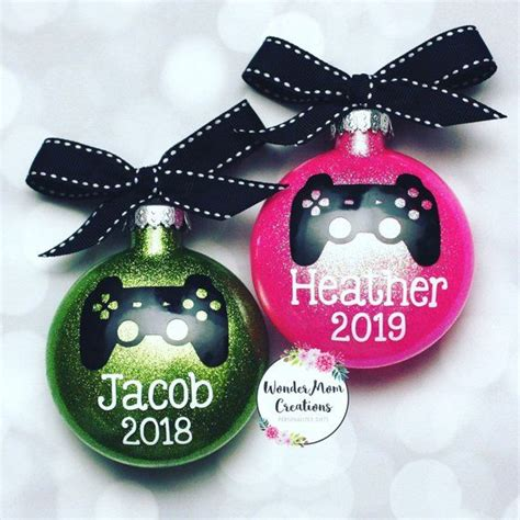 Video Gamer Personalized Christmas Ornament Personalized