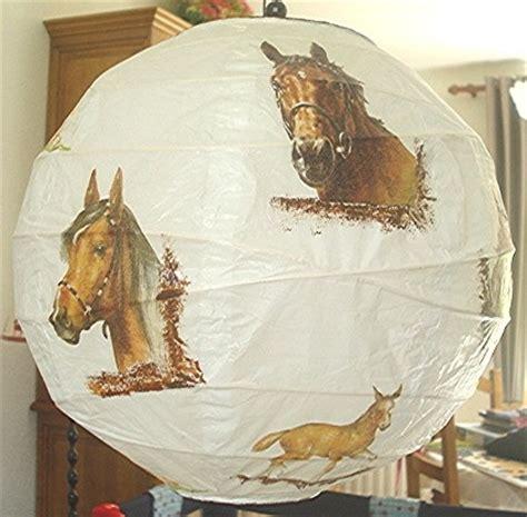 abat jour en papier de riz abat jour papier de riz boule chinoise chevaux pour laurie mes cr 233 ations coralie74500
