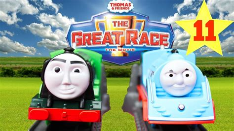 Thomas And Friends The Great Race #11 Trackmaster Flying