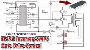 Tl494 Inverter Circuit Schematic