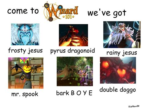 Wizard101 Memes - i made a meme not my best work but i ve been bored while questing wizard101