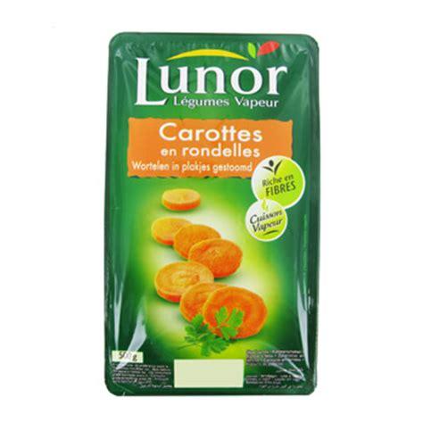 carottes rondelles lunor 500g simply market