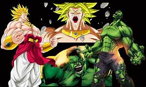 Broly vs Hulk - YouTube