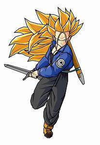 SSJ3 Future Trunks by SpinoInWonderland on DeviantArt