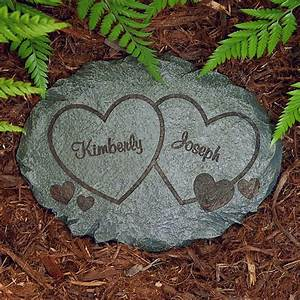 Personalized garden stones at personal creations for Personalized garden stone