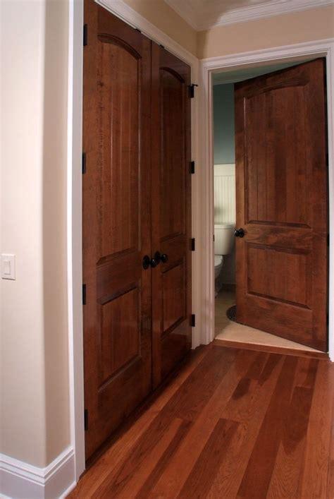 solid maple sante fe  ft interior door  double closet