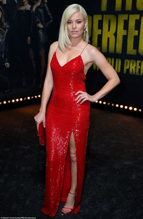 braless ruby rose leads glamour at pitch perfect premiere daily mail online