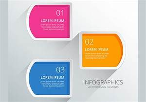 Infographics Numbered Diagram Vector