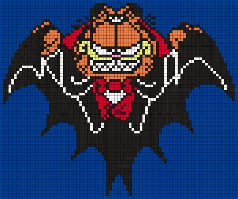 Halloween Perler Bead Projects by Halloween Vampire Garfield Perler Bead Pattern Bead