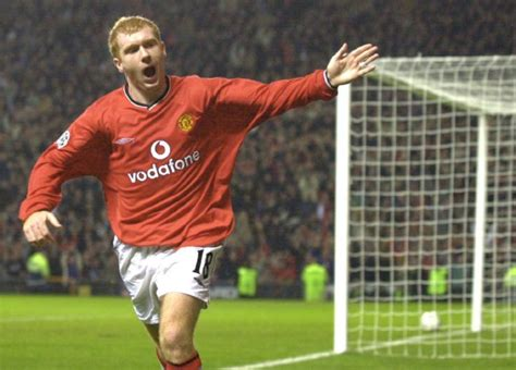 Man U v PSV Scholes goal » Who Ate all the Pies