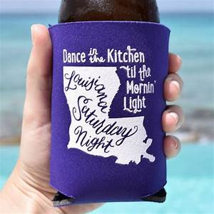 17 best images about koozies cups drink ware on With koozie cups wedding favors