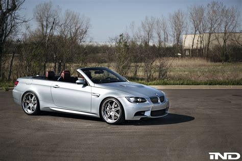 bmw m3 convertible images bmw e92 m3 convertible gets new wheels