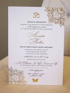 5x7 announcement indian wedding gold foil invitation With cost of wedding invitations indian