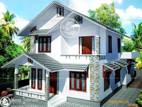 double floor beautiful kerala home design plan