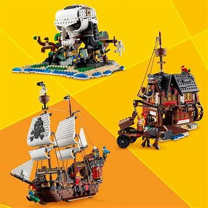 Lego Pirate Creator Ship