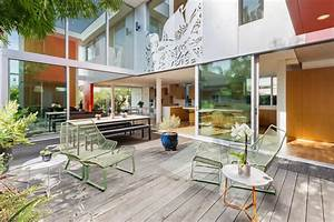 Colorful, Contemporary, Home, In, Venice, Beach, Modern, Home, In