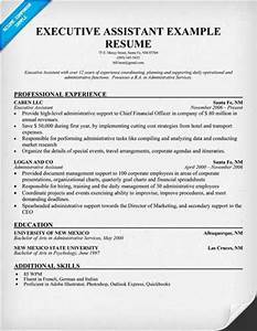 executive assistant resume template With executive resume keywords