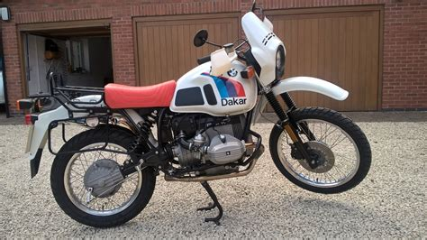 R80gs For Sale by Restored Bmw R80gs Dakar 1986 Photographs At