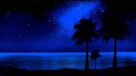 whisper tropical night sky relaxation youtube