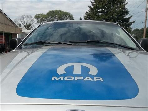 2002   2016 Dodge Ram MOPAR FADING Faded Strobe CENTER