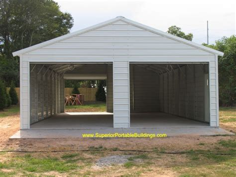 xx boxed eave garage