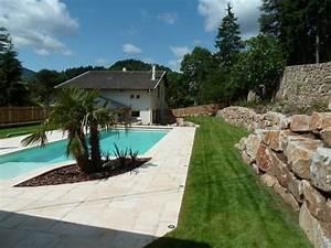 amenagement jardin et piscine 2 preview modern aatl With amenagement autour d une piscine hors sol