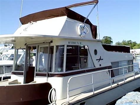 Boats For Sale Southton Ny by 1974 Kingscraft House Boat Power Boat For Sale Www
