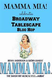 Mamma Mia Blog : mamma mia celebrates broadway tablescape blog hop bluesky at home ~ Orissabook.com Haus und Dekorationen
