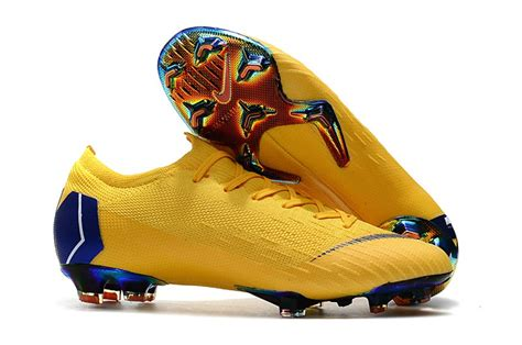 Unfair Brink Kosciuszko Blue And Yellow Football Cleats