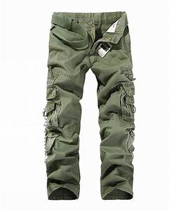 Combat Men's Cotton Cargo ARMY Pants Military Camouflage ...