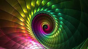 Abstract, Spiral, Fractal, Wallpapers, Hd, Desktop, And