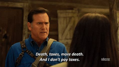 Bruce Cbell Memes - season 1 death gif by ash vs evil dead find share on giphy