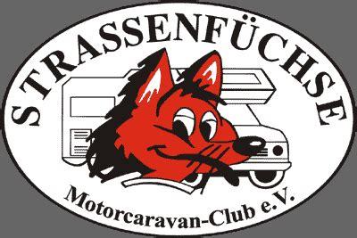 wohnmobilclub strassenfuechse motorcaravan club ev home