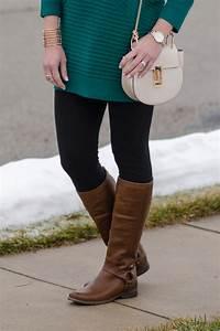 Spring Fashion Preview Green Tunic Leggings u0026 Riding Boots