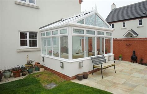 shaped  gable conservatories  windows