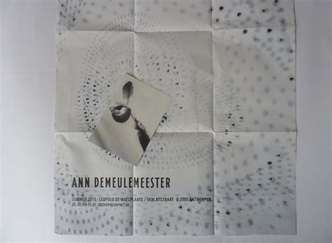 ann demeulemeester posters  english group