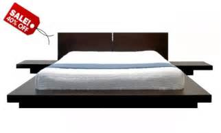 King Bed Frame Walmart by Build Wooden Platform Bed Frame Quick Woodworking Projects