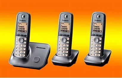 Kx Cordless Panasonic Dect Telephone Triple Pack