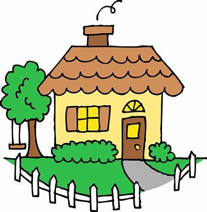 Houses Clipart Library Colouring Clip Coloring Point