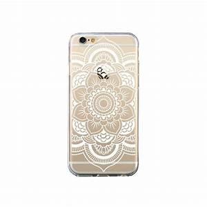 Coque Pour Iphone 6 : coque mandala blanc azteque transparente pour iphone 6 et 6s nico ~ Teatrodelosmanantiales.com Idées de Décoration