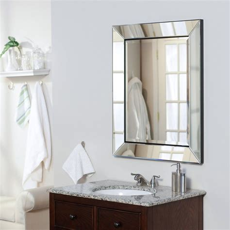 My wife is interested in replacing the mirror with lighted vanity mirrors. Bathroom Trend: Recessed Medicine Cabinets Eliminating ...