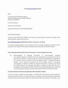 credit repair letter With letters to fix credit