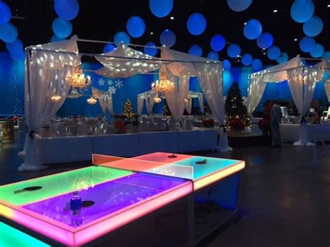 ping pong table rental glow in the dark ping pong table over 21 party rentals